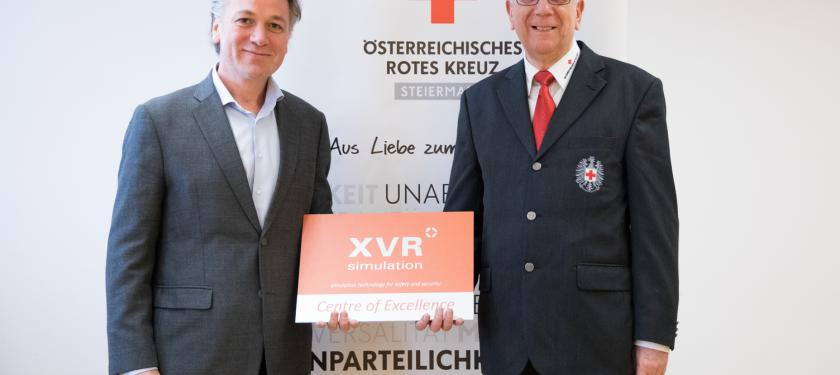 XVR Close Up Austrian Red Cross