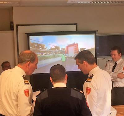 Fire brigade Twente uses XVR in fight against terror