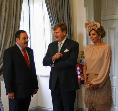 Dutch King visits Portuguese Fire College