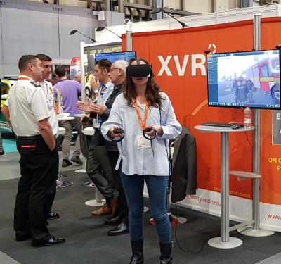 XVR exhibiting at Emergency Services Show
