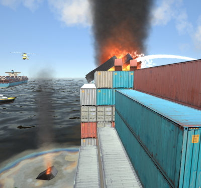 Using simulation to train maritime incident response
