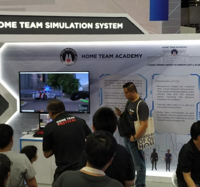 XVR Simulation participates in Home Team Festival 2019